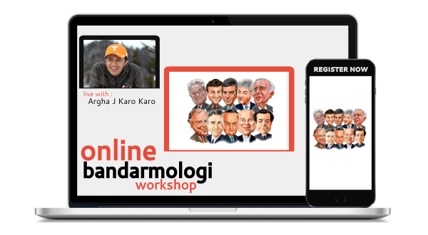 online bandarmologi workshop